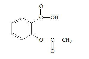 Ацетилсалициловая кислота Формула