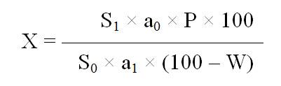 Амлодипина бесилат - формула