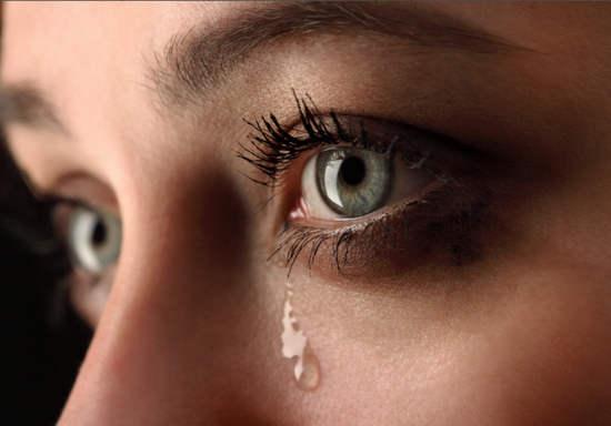 частые слезотечения