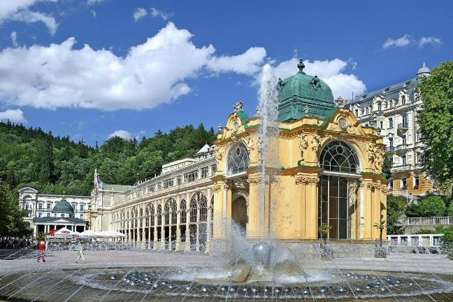 Лечебные курорты Европы, Марианске Лазне в Чехии